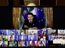 Conte videoconferenza Ue