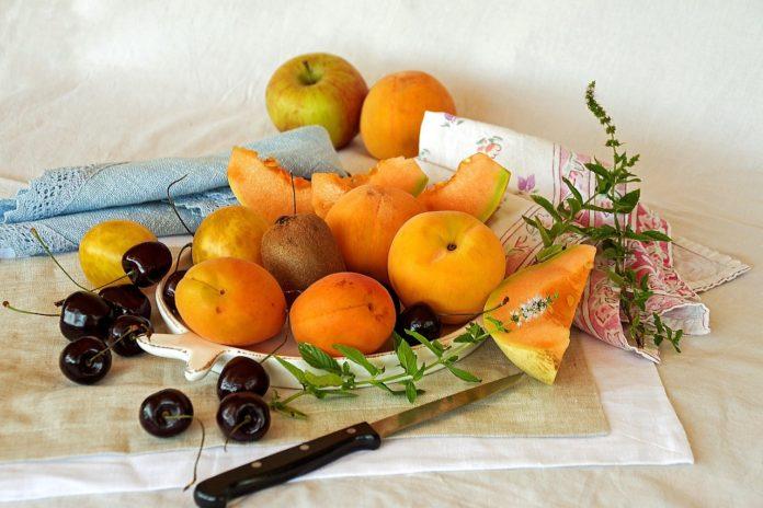 Frutta stagione estiva