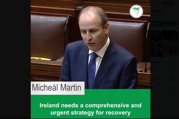 Irlanda premier Martin