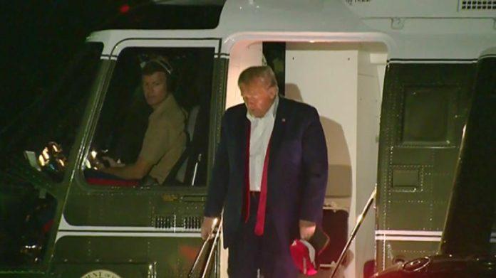Trump torna da Tulsa