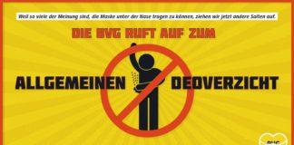 BVG pubblicità deodorante