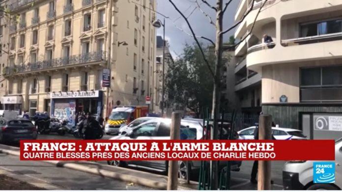 Charlie Hebdo attacco 2020