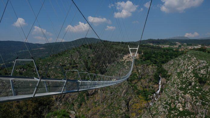 Portogallo ponte Arouca