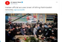 Iran nucleare funerale