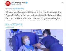 Covid vaccino GB