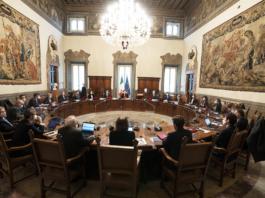 Consiglio ministri Draghi