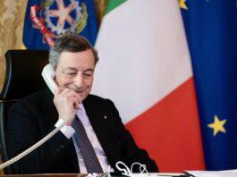 Draghi al telefono