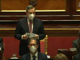 Draghi fiducia Senato