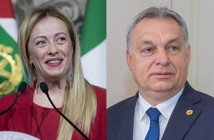 Meloni Orban