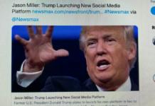piattaforma Trump social