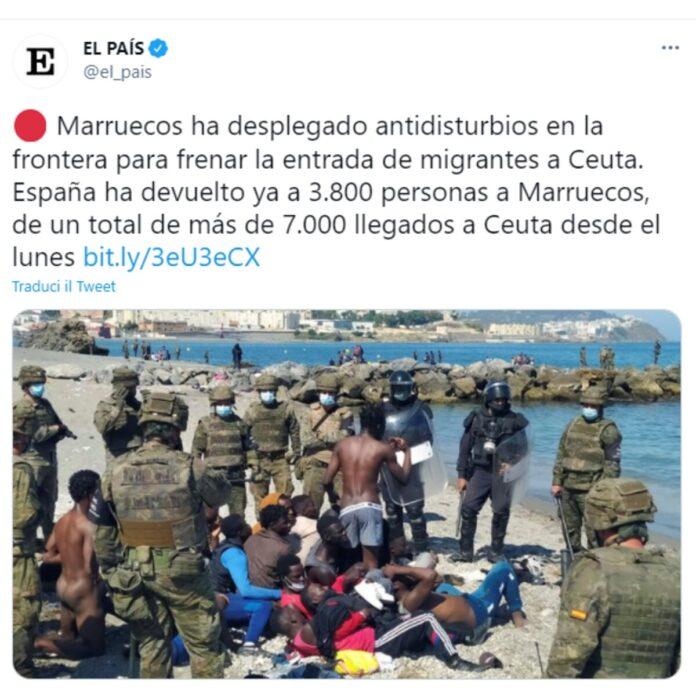 Ceuta enclave