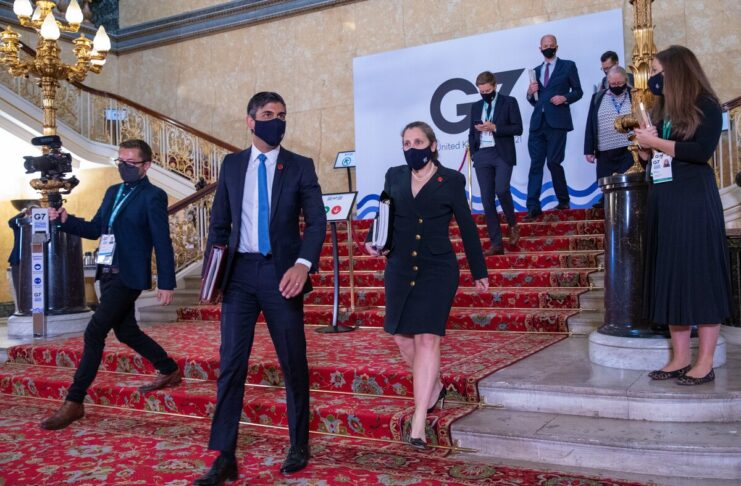 G7 Londra aliquota