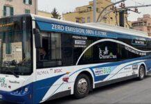 Autobus elettrico Roma