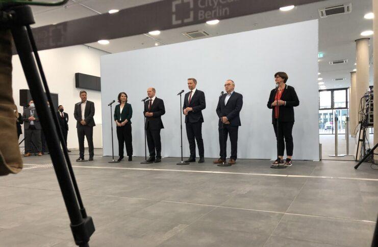 SPD Verdi FDP Merkel